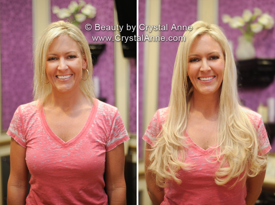 Hair Clip Extensions Before And After Hair Extensions Before And